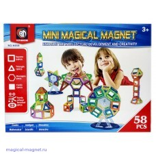 Mini Magical Magnet 58 деталей